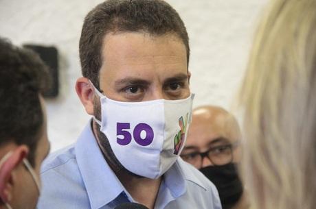 Guilherme Boulos (PSol) contraiu covid-19