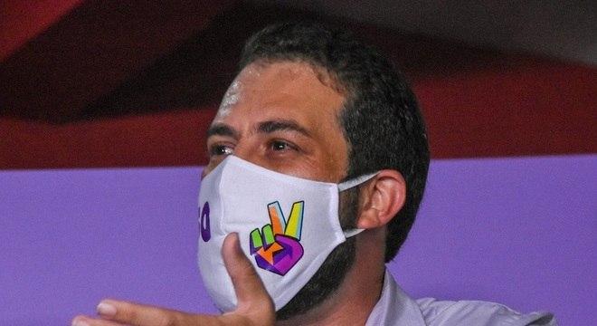 Boulos recebeu apoio de Tatto e Haddad