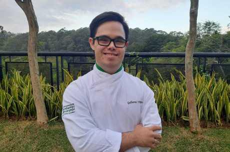 Guilherme trabalha em um restaurante em São Paulo