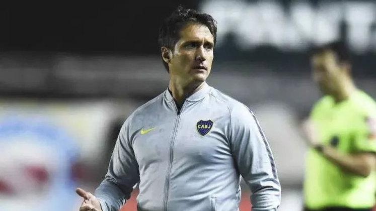Guillermo Schelotto (Argentina) - 48 anos - Último clube: LA Galaxy - Desempregado desde outubro de 2020 - Passou por Lanús e Palermo antes de chegar ao Boca Juniors, clube no qual chegou à final da Libertadores de 2018, quando perdeu para o rival River Plate.