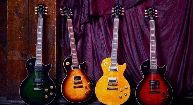 Guitarras do Slash com a Gibson