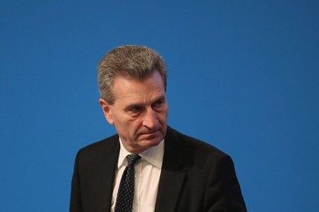 Oettinger: 'Alguns querem destruir o projeto europeu'