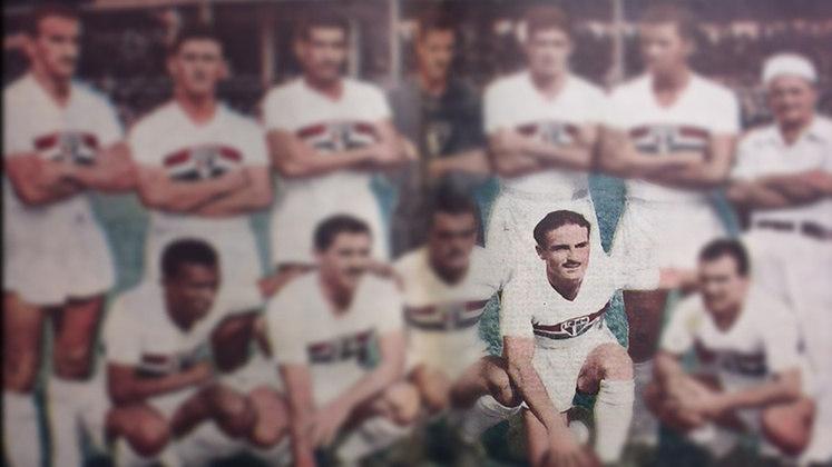 Gustavo Albella - 80 jogos: mais um argentino, o meia-atacante jogou no São Paulo entre 1952 e 1954. Marcou 46 gols na equipe.