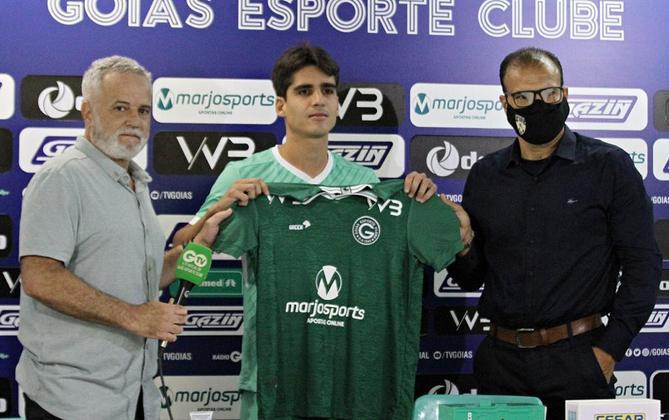 Gustavo Blanco: volante novamente vinculado ao Atlético-MG (estava no Goiás)