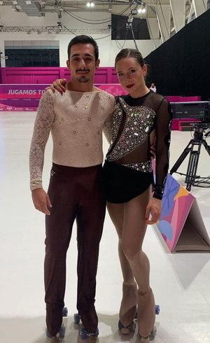Gustavo e Bruna têm chance na patinação artística