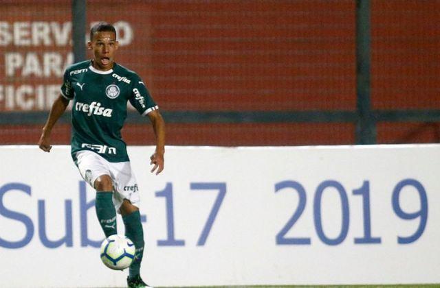 Gustavo Garcia - Lateral-direito - 19 anos - Contrato até: 31/12/2023