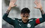 Gustavo Gómez - Zagueiro - Paraguai - 28 anos - Time: Palmeiras - Contrato até: 30/06/2024 - Valor de mercado segundo o site Transfermarkt: 6 milhões de euros (aproximadamente R$ 35,13 milhões) - Fase: Principal jogador da seleção paraguaia, o zagueiro é o pilar defensivo para o seu país e o Palmeiras.