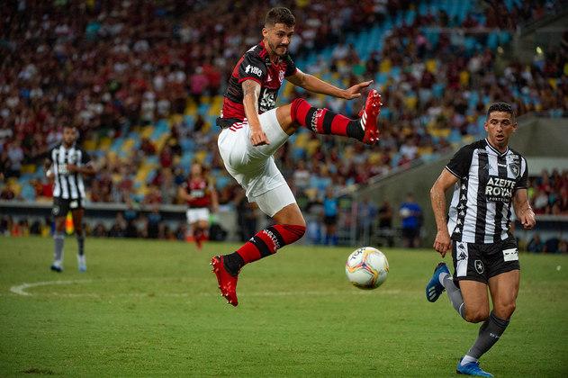 GUSTAVO HENRIQUE - CONTRATO ATÉ: 31/12/2023 / Posição: zagueiro / Nascimento: 24/03/1993 (27 anos) / Jogos pelo Flamengo: 13 / Títulos pelo Flamengo: Carioca, Supercopa do Brasil e Recopa Sul-Americana.