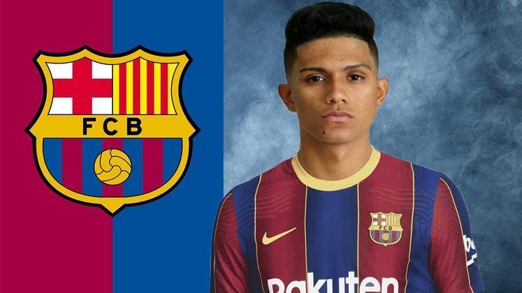 Gustavo Maia - Atacante - 19 anos - Barcelona B
