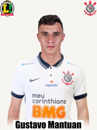 Gustavo Mantuan - 6,0: Foi regular jogando pela ponta esquerda, não comprometeu no ataque, porém não criou muitas chances.