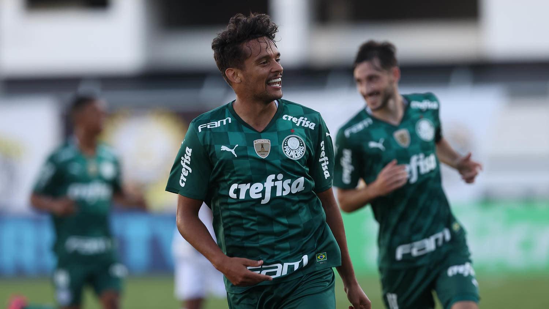 Gustavo Scarpa teve atuação excelente. Responsável pela vitória decisiva do Palmeiras