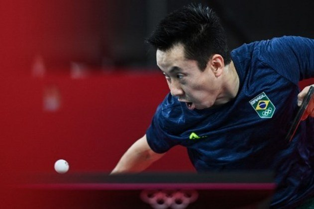Gustavo Tsuboi perdeu para o chinês Lin Yun-ju por 4 sets a 2 nas oitavas de final dos Jogos Olímpicos.