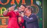 A live com Gusttavo Lima e Leonardoalcançou 1,5 milhão de usuários simultâneos na plataforma de vídeos