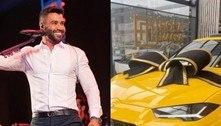 Gusttavo Lima compra carro de R$ 3 milhões e aumenta lista de bens