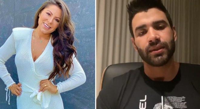 Andressa Ferreira deu seu pitaco no vídeo de desabafo do cantor