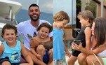 Gusttavo Lima e Andressa Suita estão passando mais tempo com os filhos,Gabriel, de 3 anos, e Samuel, de 2, após crise no relacionamento. Os dois, que passaram os últimos dias em Angra dos Reis, no litoral do Rio de Janeiro, bombardearam as redes sociais com fotos dos pequenos