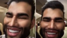 Gusttavo Lima brinca com filtro e diz que fez harmonização facial