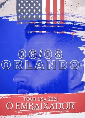 Primeiro show será em Orlando