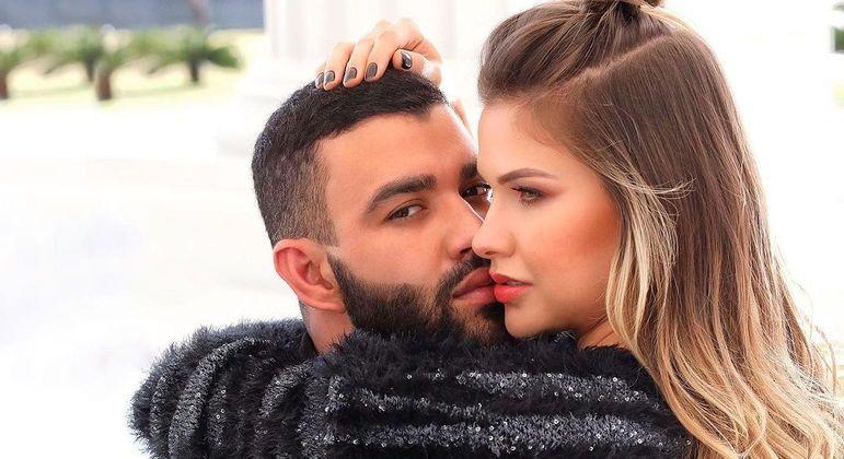 Andressa Suita curtiu foto do ex-marido, o cantor Gusttavo Lima, nesta sexta-feira (29)