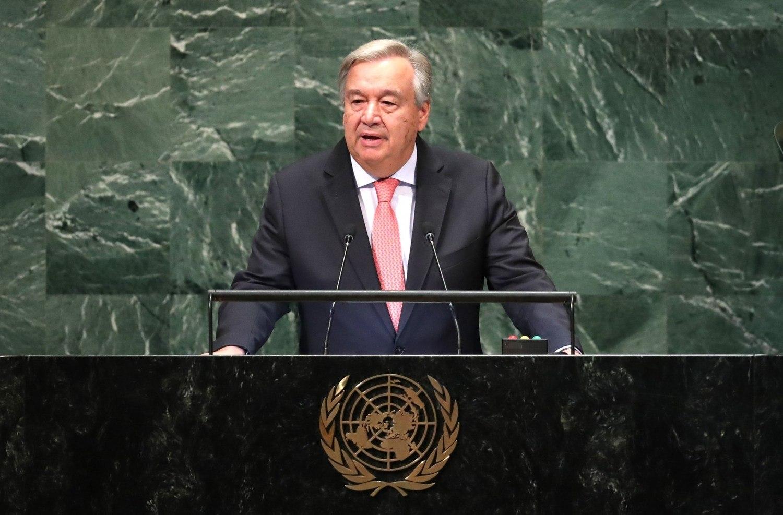Chefe da ONU alerta sobre ordem mundial 'cada vez mais caótica'