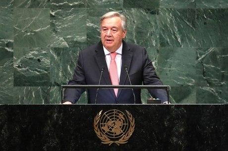 Guterres criticou o fechamento de fronteiras