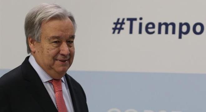 Guterres, às vésperas da Cúpula do Clima: 'É preciso aumentar a responsabilidade'