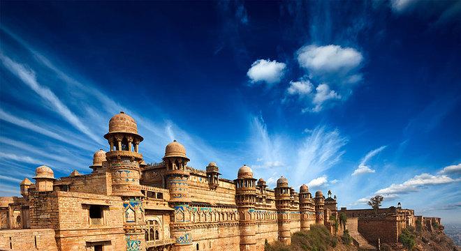 Um pequeno templo dentro da fortaleza de Gwalior abriga o mais antigo registro conhecido do uso do número zero