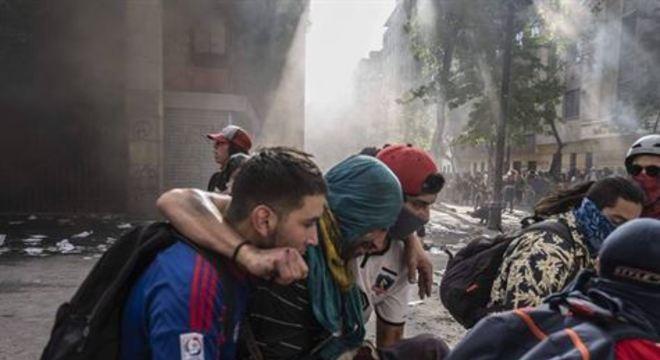 Há dez dias, o Chile enfrenta a maior onda de protestos sociais dos últimos 30 anos