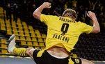 2º Erling Haaland - Norueguês - 20 anos - Borussia Dortmund - 131 milhões de euros- R$ 830,5 milhões