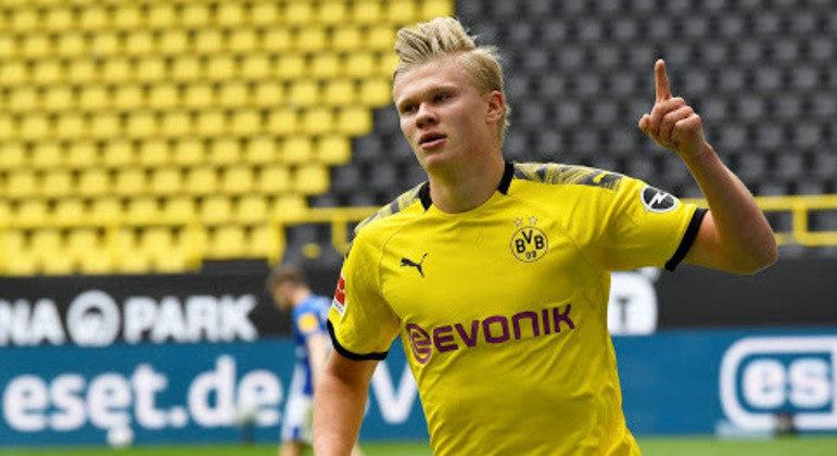 Haaland, do Borussia Dortmund