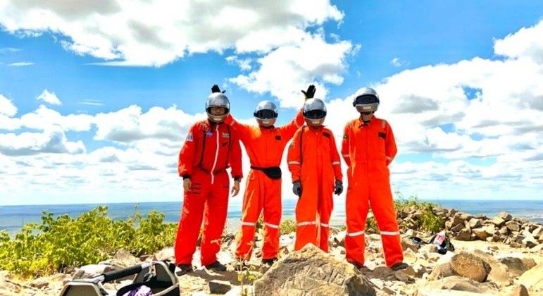 Programa Habitat Marte é realizado em Caiçara do Rio do Vento (RN)