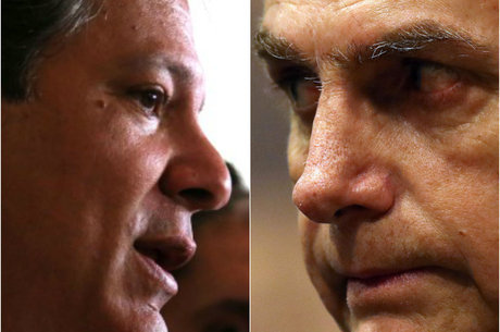Bolsonaro abriu 18 pontos sobre Haddad, diz Ibope
