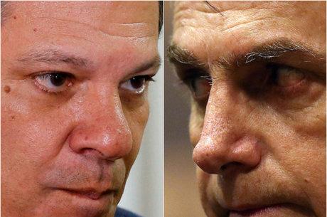 Rejeição a Haddad supera a de Bolsonaro