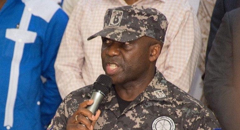 O chefe da Polícia Nacional, Leon Charles, detalhou a prisão dos acusados de matar Moise