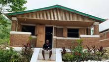 Haitiano formado no Brasil constrói casas antiterremoto no Haiti