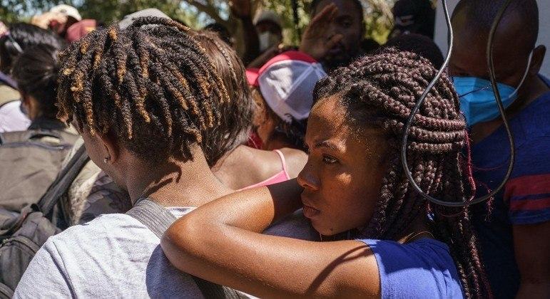 Haitianos atravessaram a América em direção aos EUA em busca de nova oportunidade