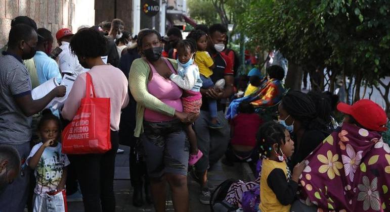 Crise migratória fez com que haitianos tivessem dificuldades para entrar nos Estados Unidos