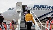 México inicia voos de repatriação voluntária de migrantes haitianos