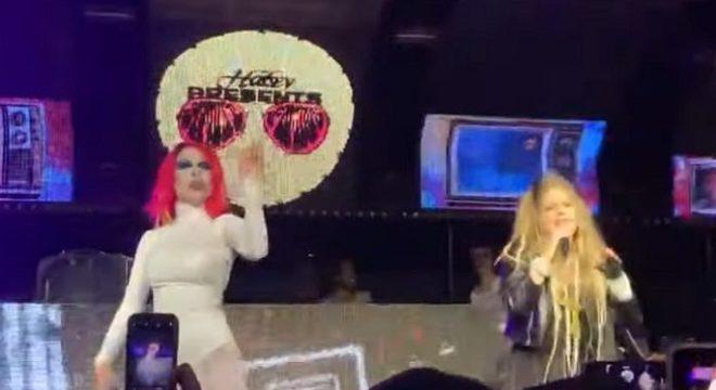Halsey e Avril Lavigne Halloween