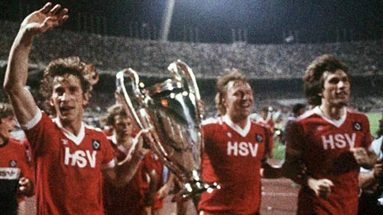 Hamburgo - 1 título (1982–83).