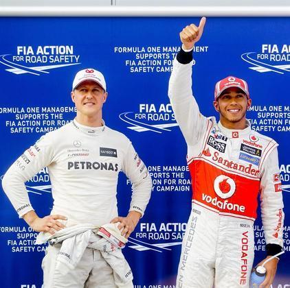 VitóriasHamilton conseguiu bater o recorde de vitórias de Schumacher (91). A marca centenária pode chegar ainda nesta temporada