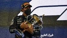 Hamilton segura Verstappen e vence GP do Bahrein de F-1