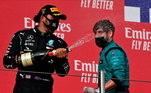 Lewis Hamilton pode se sagrar sete vezes campeão da Fórmula 1, no GP da Turquia, em 15 deste mês. Mas possibilidade desta enorme conquista não garante o inglês na temporada 2021. O próprio piloto