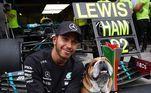 Vencedor pela 93ª vez na principal categoria do automobilismo, Hamilton, de 35 anos, completou: