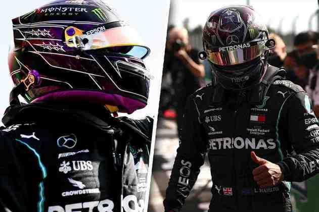 Hamilton na pole após intensa disputa contra Bottas. As melhores imagens da agitada classificação em Portimão estão aqui (Por Grande Prêmio)