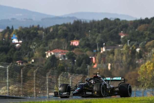 Hamilton pode conquistar o sétimo título mundial no domingo.