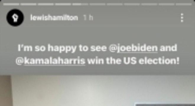 Hamilton sobre eleições Biden e Kamala