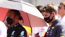 """Hamilton foi """"desrespeitoso e antidesportivo"""", acusa Verstappen"""