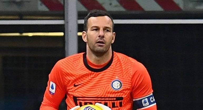 Handanovic, firmeza na meta da Internazionale