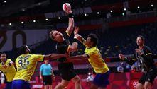 Brasil perde para Alemanha e é eliminado no handebol em Tóquio